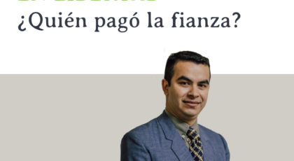 En libertad ¿Quién pagó la fianza? – Orador: Miguel Candia